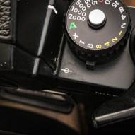 Nikon F3 film plane indicator