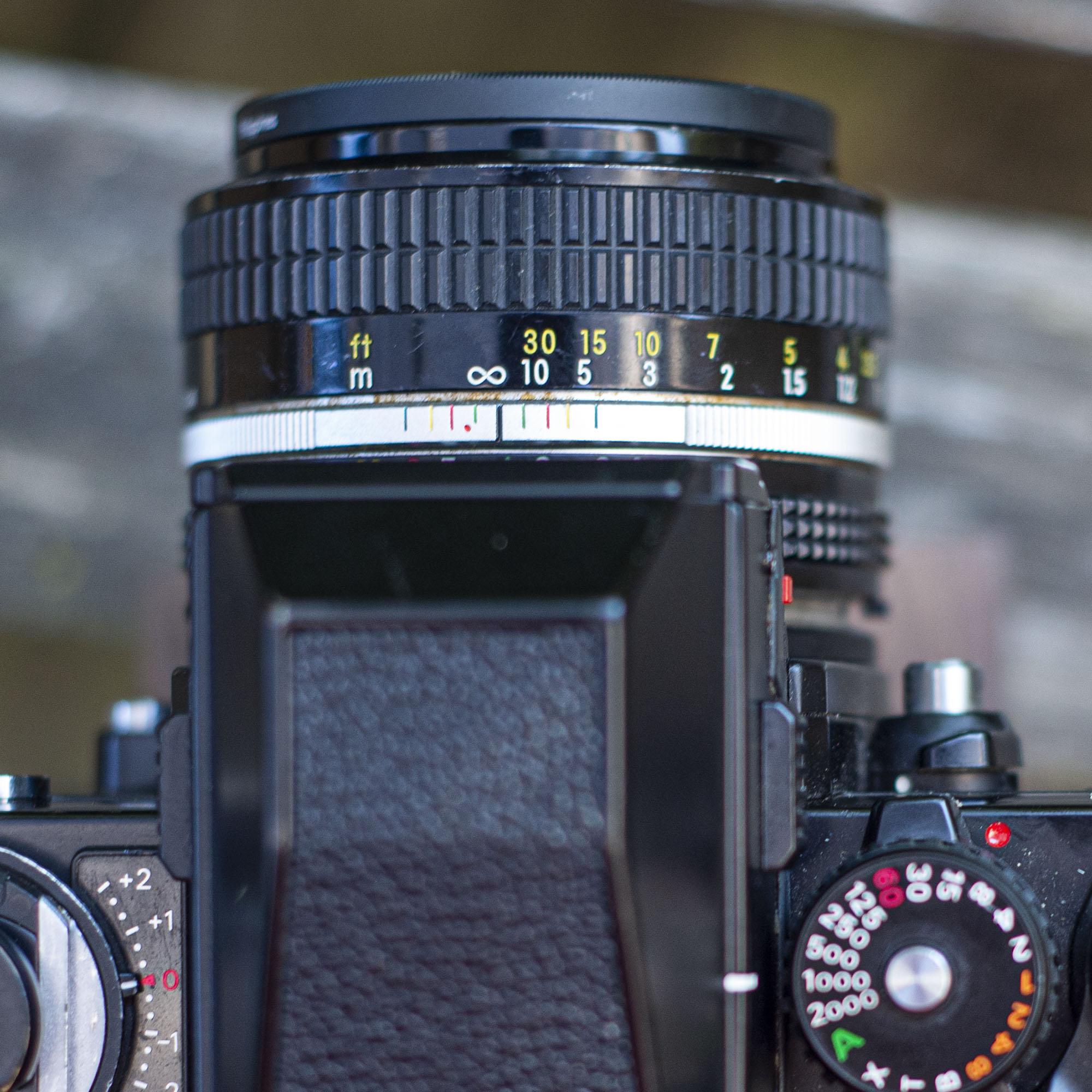 Nikon 50mm lens detail