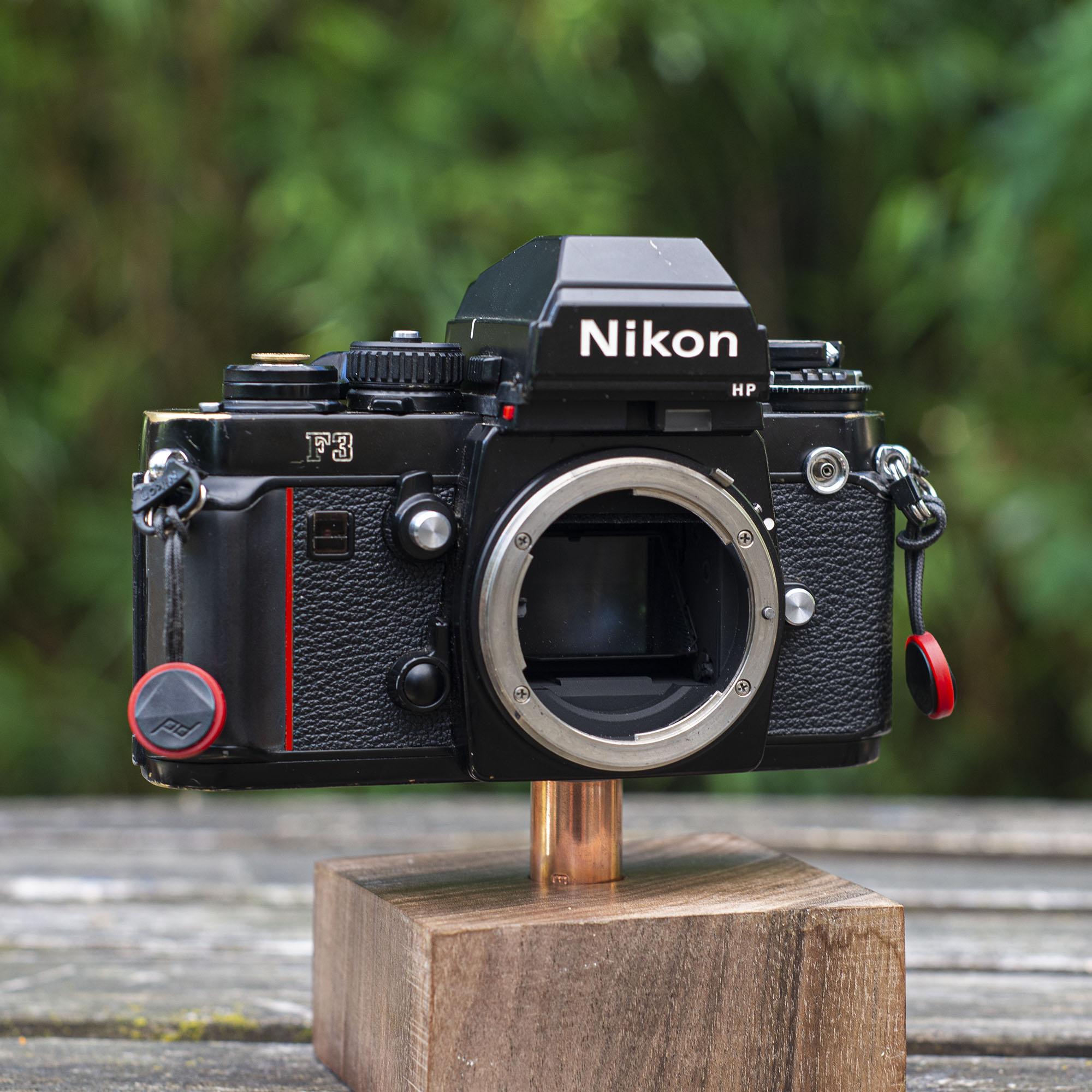 Nikon F3 with no lens