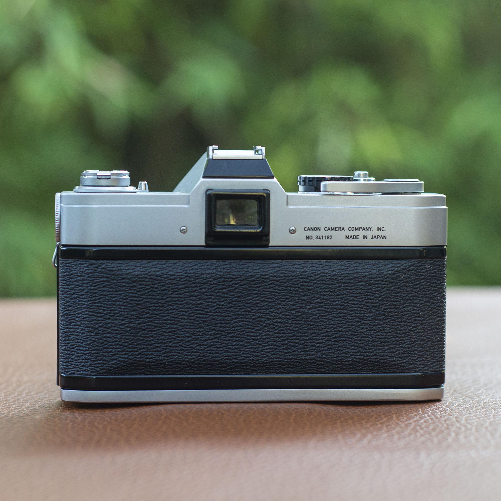 Canon FT film back/door