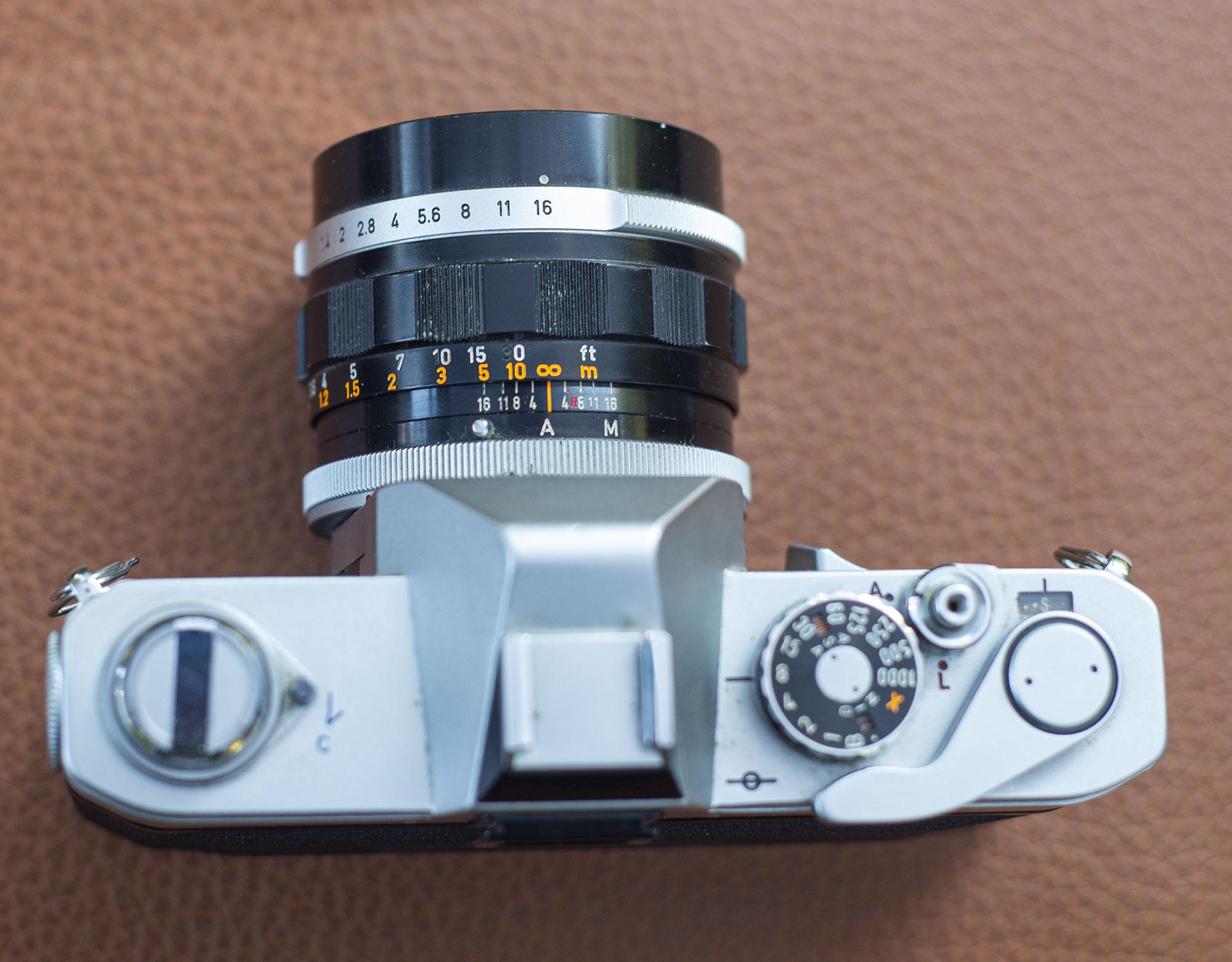 Canon FT lens details