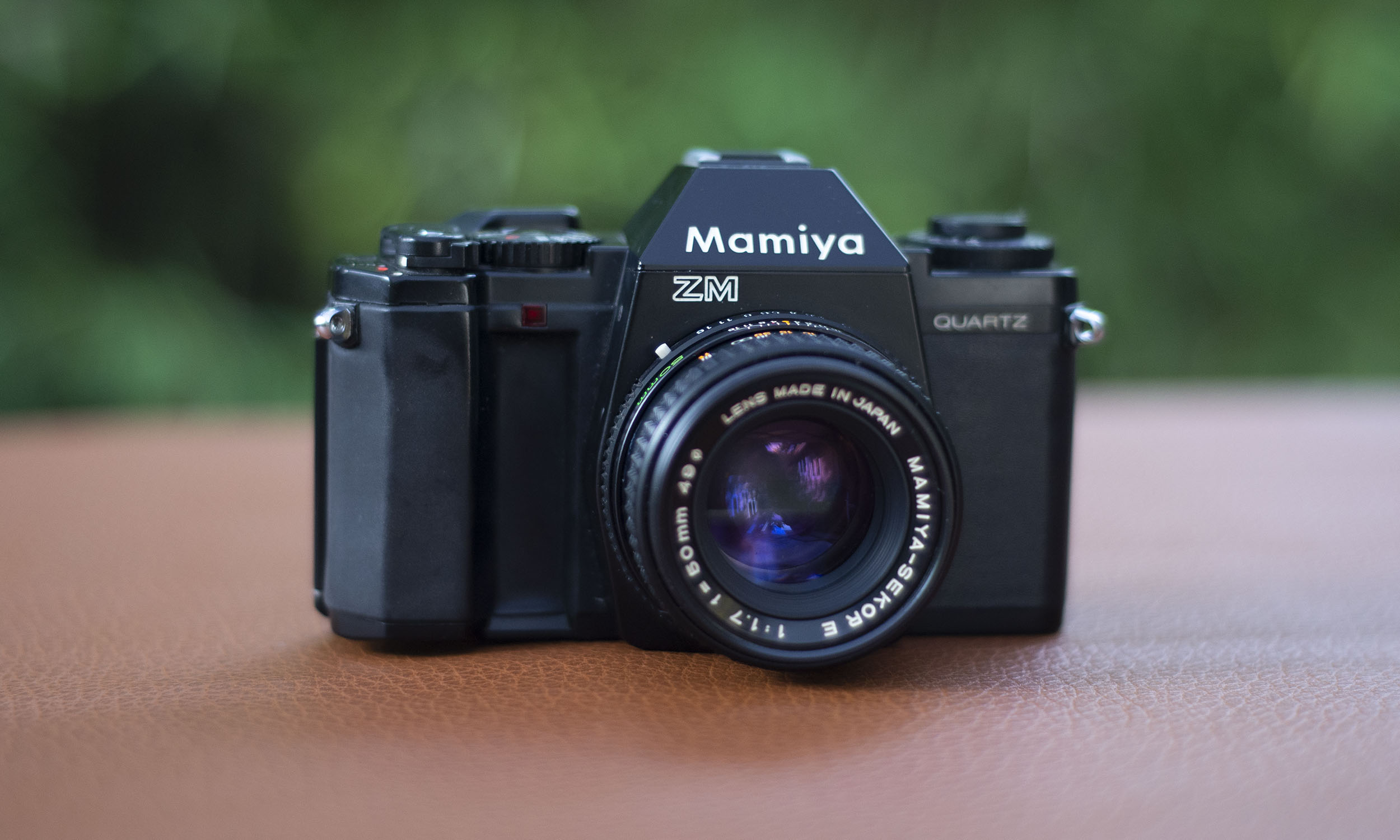 Mamiya ZM 35mm film camera