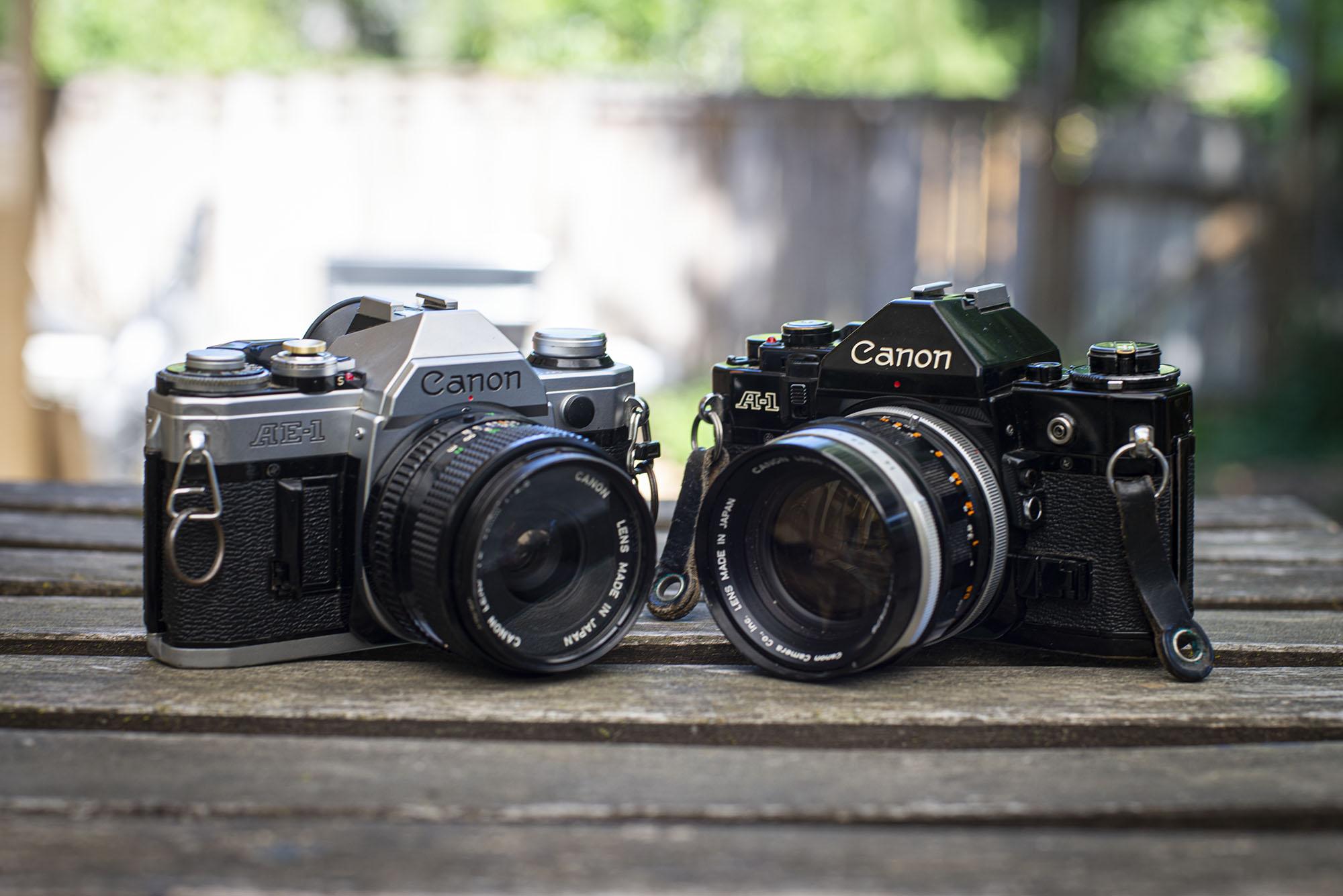 Comparing FD Lenses : old vs. new