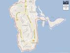 Map of Cap Ferrat Walking Trails