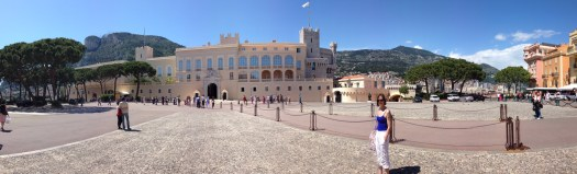 """On the """"Rock"""" of Monaco, the Palace"""