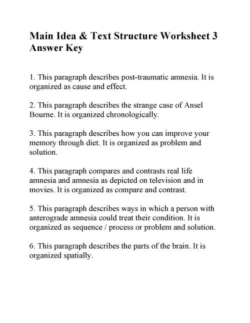 small resolution of Chronological order paragraph worksheets homework help college