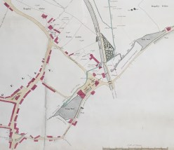 D615/M/5/11 Map of forge, Rugeleyc. 1850