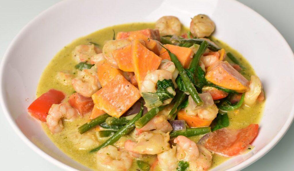 Rezept: Thai-Curry mit Süsskartoffel
