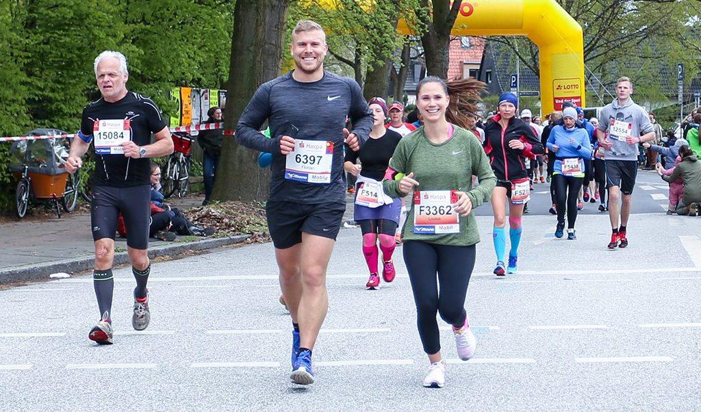 Premiere beim Hamburg Marathon