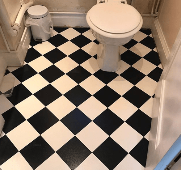 Amtico bathroom floor