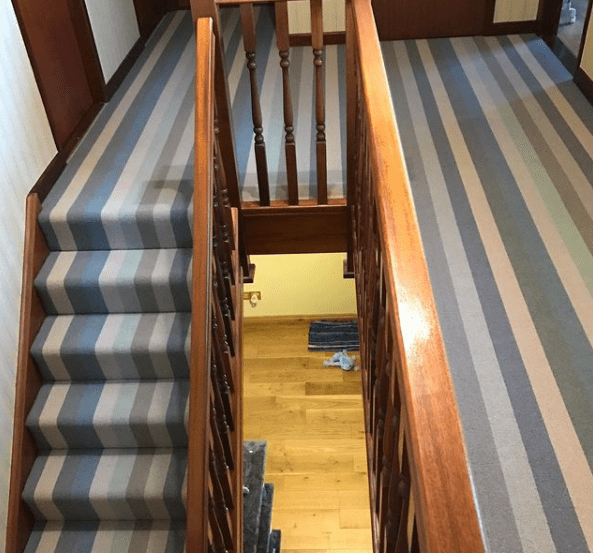 Wool carpet Cambridge