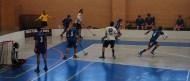 Contra en nuestro primer partido en Liga Nacional contra CUF Leganés