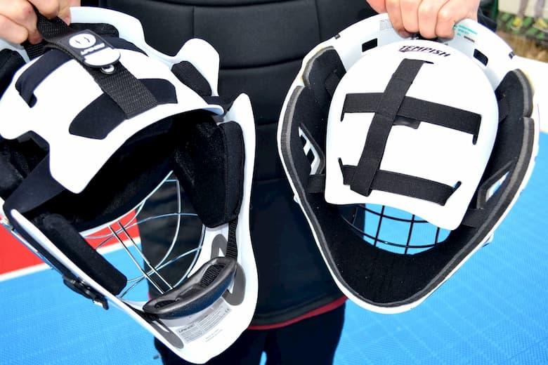 Защите подбородка флорбольный шлем, маска