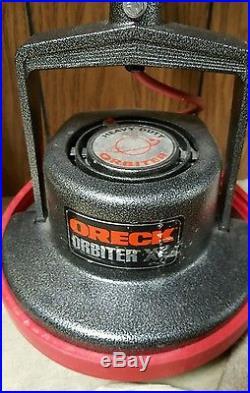 Oreck Orbiter Commercial Floor Buffer  Polisher Scrubber