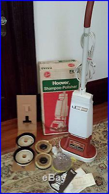 Vintage Hoover Model F4143 Floor Polisher Scrubber Buffer