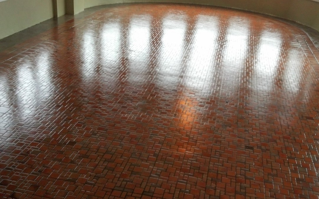 Quarry Tile Stripping, Cleaning, and Waxing