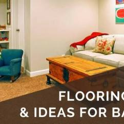 Flooring For Living Room Options Front 5th Wheel 4 Best Basement 2019 Ideas What Pitfalls To Avoid Basements