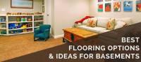 4 Best Basement Flooring Options | 2018 Ideas & What ...