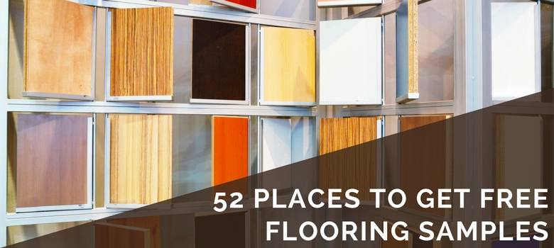 52 places to get free flooring samples