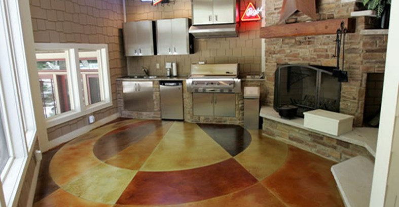 Colored Floors Done Right  Discount Flooring Blog