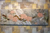 Flower mural by A Pile of Tile