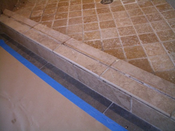 Yeah see, the grout is flawed, all of it