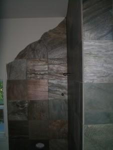Slate Kerdi walk-in Shower in Fort Collins