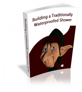 Building a traditionally waterproofed shower for tile