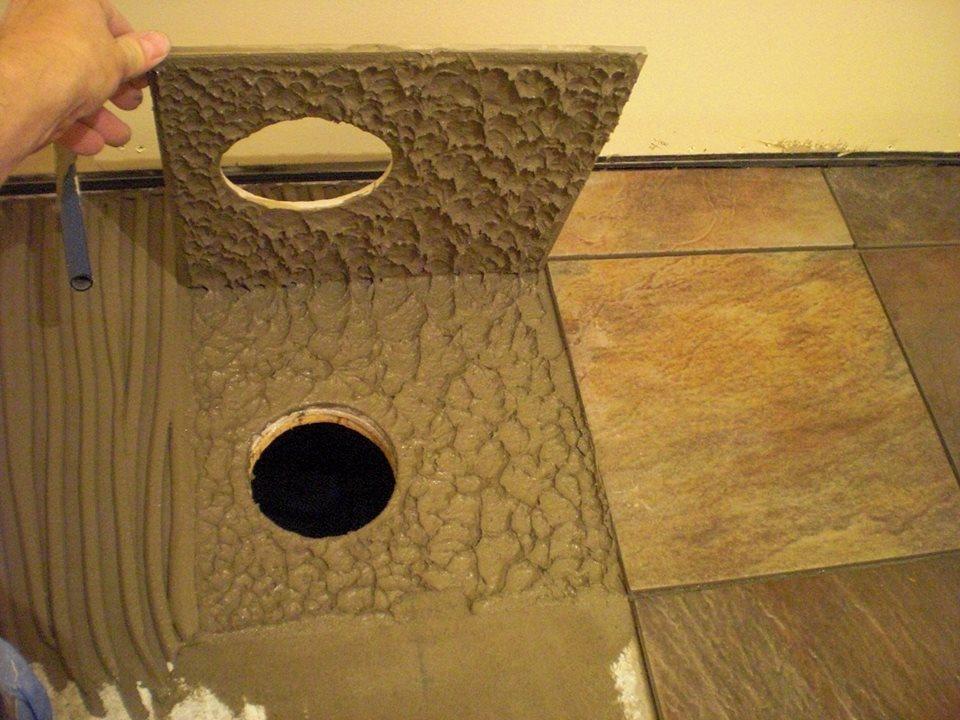 Using the proper trowel   The Floor Elf