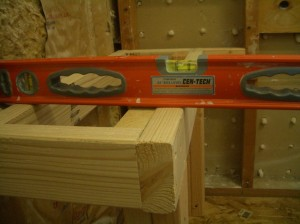Slope the top of your bench!