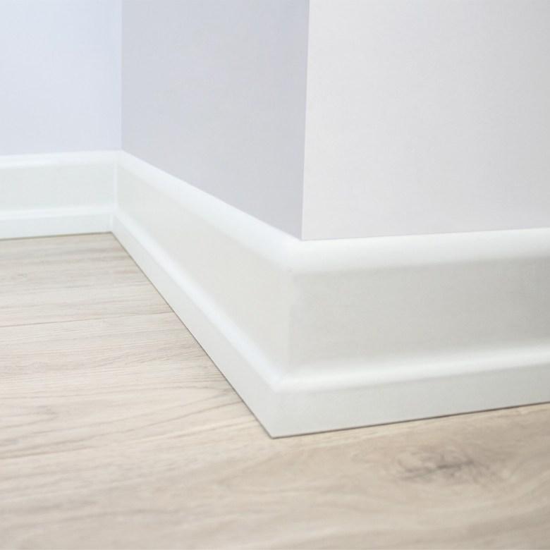 White 8cm Skirting