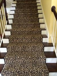 Leopard Animal Print Stair Runner | Hemphill's Rugs ...