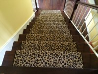 Leopard Animal Print Stair Runner