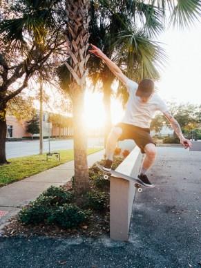 Nick Barwick, Boardslide, St. Petersburg, FL.