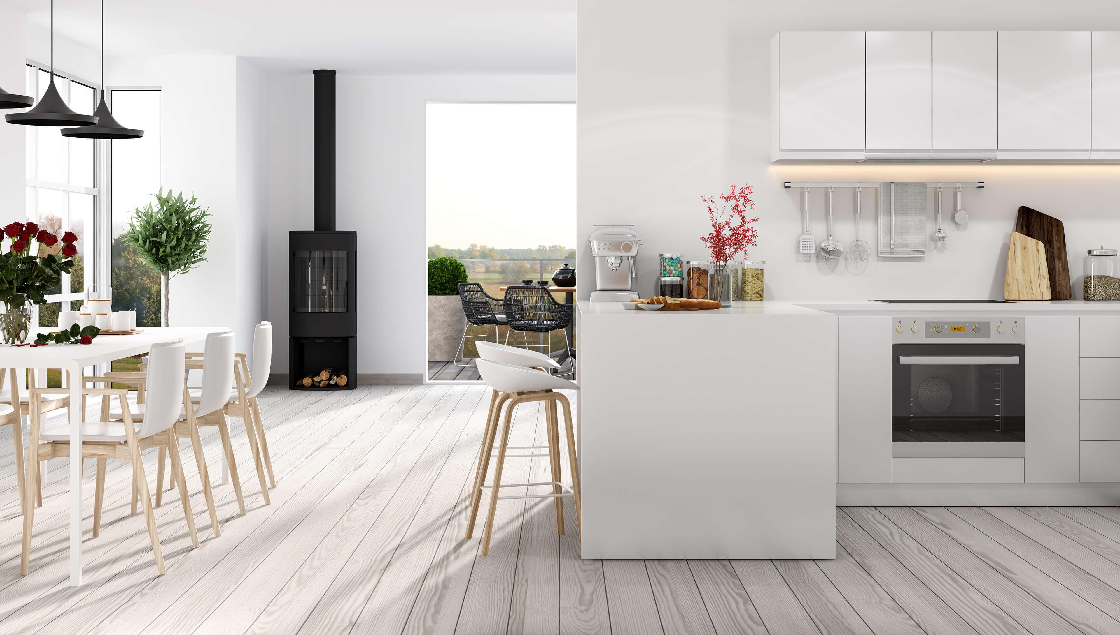 Kitchen Flooring  Laminate Vinyl Wood Floors in Cornwall