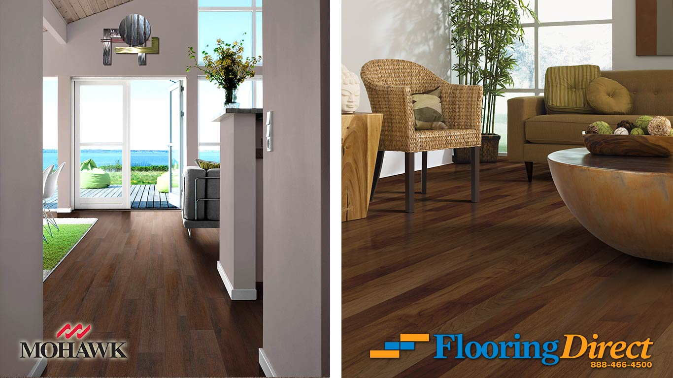 WoodLook Tile vs Engineered Hardwood  Flooring Direct