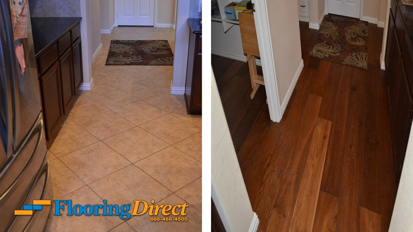 Before and After Hardwood Flooring Installation Pictures  Flooring Direct