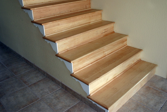Image Result For Installing Wood Stair Treads And Risers