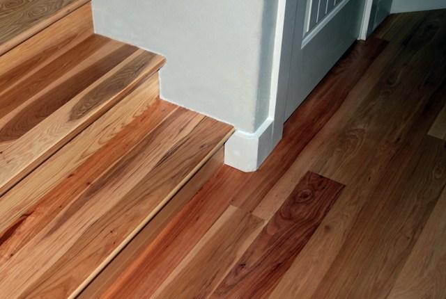 Esl Hardwood Floors Portfolio Hardwood Flooring Photo Gallery | Prefinished Hickory Stair Treads And Risers | Stair Parts | Hickory Natural | Stairtek | Natural Prefinished | Oak Stair Nosing