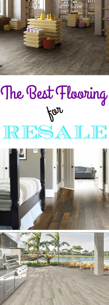 The Best Flooring for Resale: Ready to remodel your home, but concerned about return on investment? We interviewed a local real estate agent to get the details on which floors sell and which floors fell!