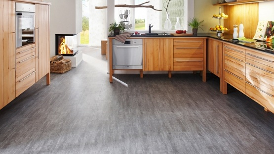 kitchen vinyl flooring small scale things to consider before installing glueless floor in