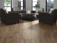 Unique and Rustic with DIY Distressed Wood Flooring ...