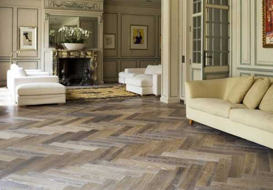 Gorgeous Reclaimed Parquet Flooring For You Home