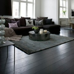 Dark Floors Grey Walls Living Room Furniture Sets In South Africa Black Wooden Flooring Brings The Contemporary Stylish Look ...