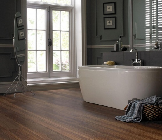 Laminate Flooring in Bathroom Ideas  Flooring Ideas
