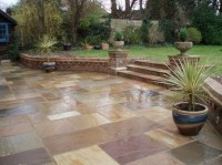 Outdoor Tile for Patio Creates Well-structured Outdoor ...