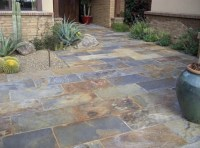 Slate patio tiles floor for traditional outdoor patio ...