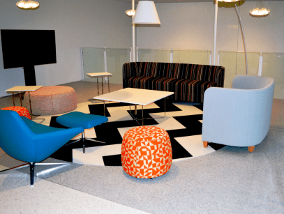 FSI durable and eco-friendly Commercial Flooring design for hospital healthcare project