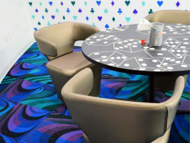 FSI Commercial Flooring for colorful, bold, creative office space