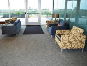 FSI commercial flooring for Forest Park Medical Center break room